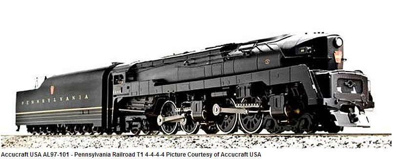 Pennsylvania Railroad T1 4-4-4-4