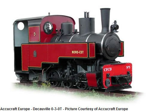Decauville 0-6-0T