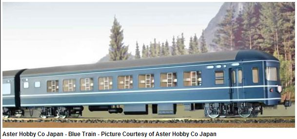 Blue Train Sleeper Car RTR only