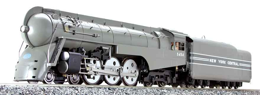 NYC 4-6-4 Dreyfuss Hudson #5454 Live Steam