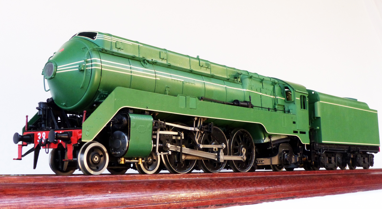 New South Wales Government Railways C38 Class 4-6-2