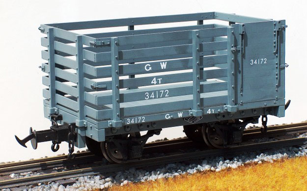 1:19 Scale W & L Sheep Wagon