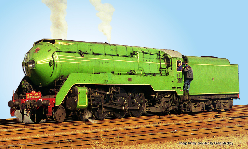 ARGYLE / ACCUCRAFT NSWGR 'C38' 4-6-2