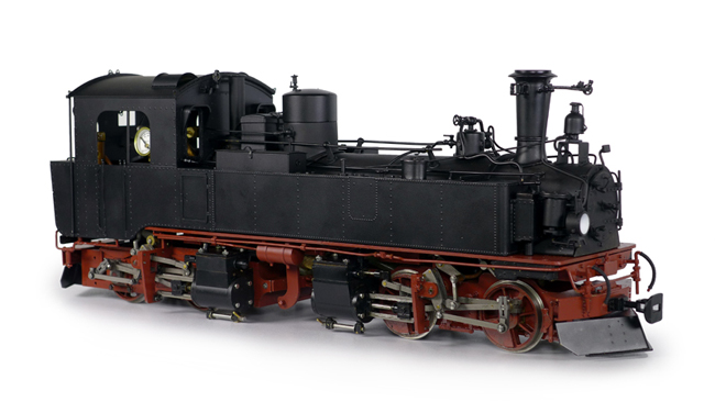Accucraft Europe - Saxonian articulated 0-4-0 + 0-4-0 IVK Live-Steam model