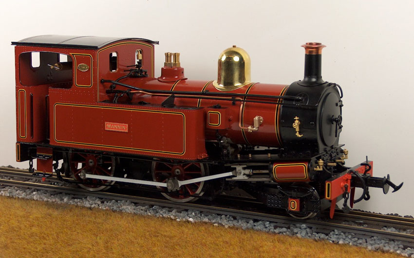 Accucraft UK - MANNIN 2-4-0T