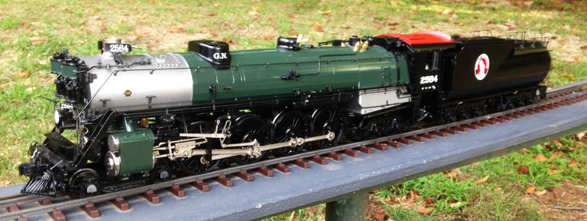 Aster Great Northern S2 4-8-4