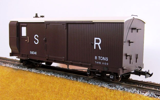 Accucraft UK - 1:19 Scale Lynton & Barnstaple Bogie Goods/Guards Van