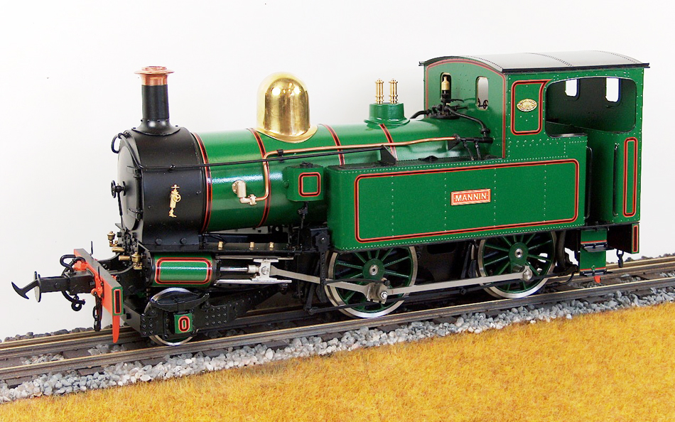 ACCUCRAFT UK - 'MANNIN' 2-4-0T