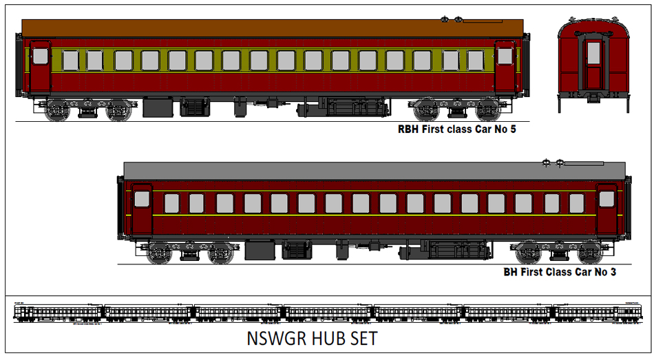 NSW Govt. Railways 'HUB Set'