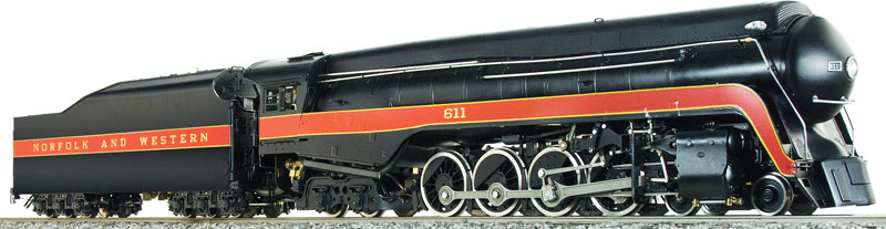 Accucraft USA NORFOLK & WESTERN 4-8-4 J-CLASS