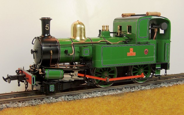 ACCUCRAFT UK - 'MONA' 2-4-0T