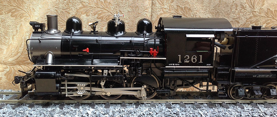 Accucraft SP S12 0-6-0 Live Steam