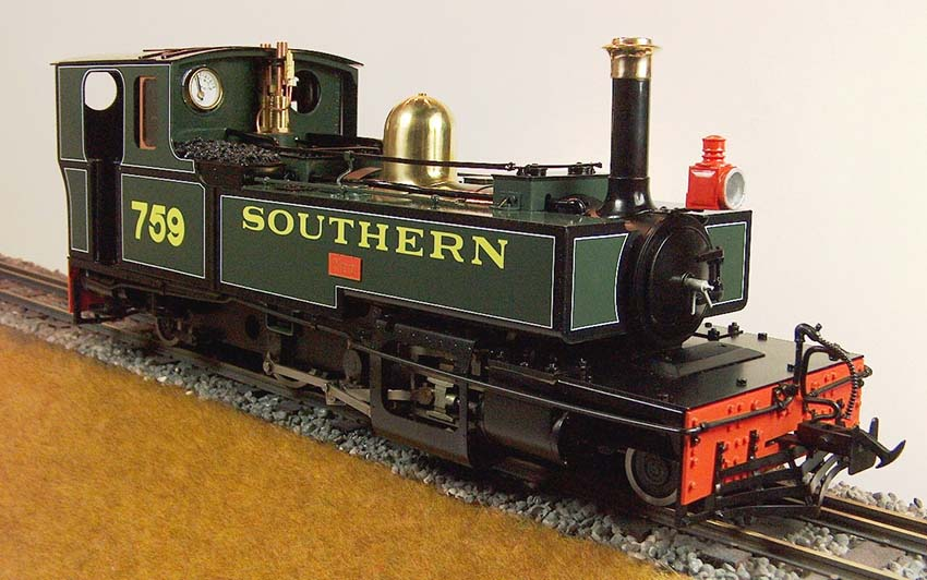 Accucraft UK - 'EXE', 'TAW' & 'YEO' L&B Live Steam 2-6-2T in 1:19 Scale