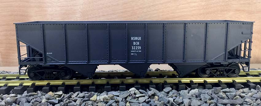 Argyle / Accucraft NSW Govt. Railways 'BCH' Bogie Coal Hopper