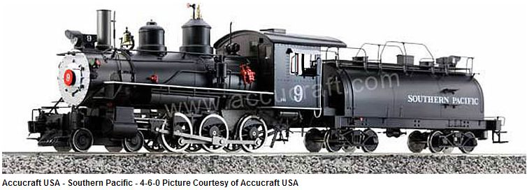 Southern Pacific 4-6-0 #9 Live Steam