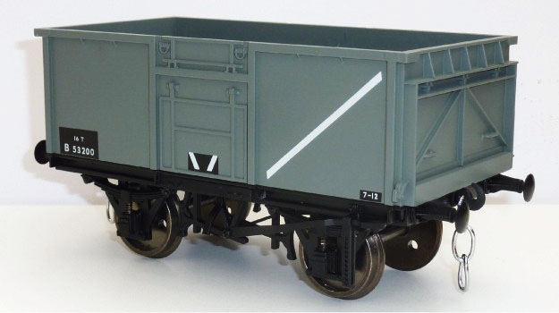 Accucraft 1:32 Scale BR 16 Ton Mineral Wagon