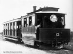 N.S.W. Govt. Tramways Baldwin Steam Tram Motor and Trailer