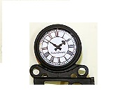 Wall mounted station clock