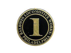 "Baldwin No. Plate ""1"" Emblem"