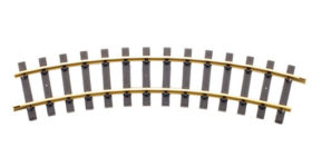 Curve Track Euro code 332 Style 1.2, to 4.6 metre diamter