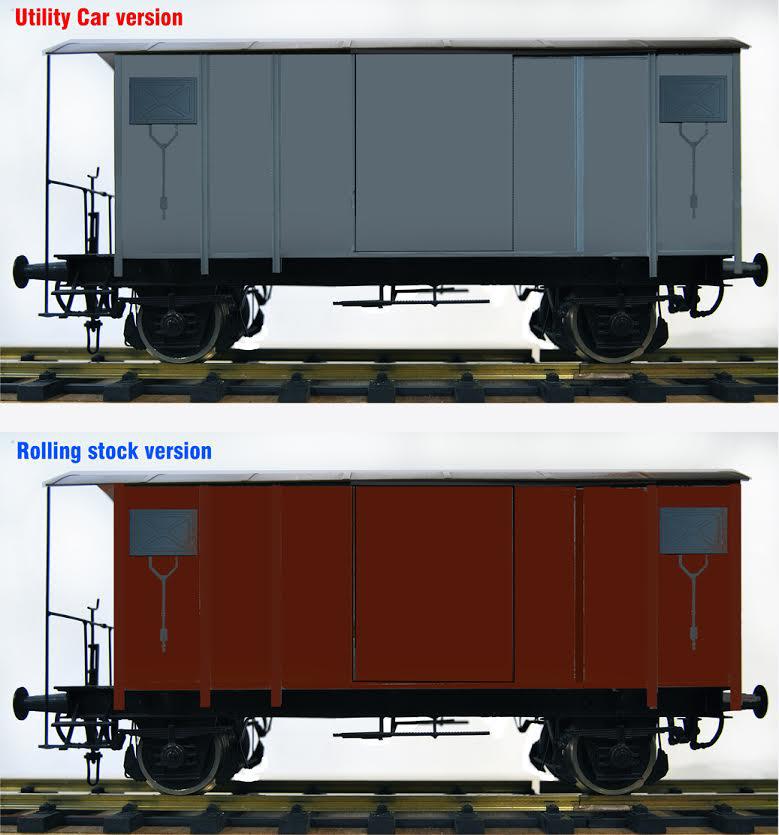 Accucraft SBB K2 Style Goods Wagon