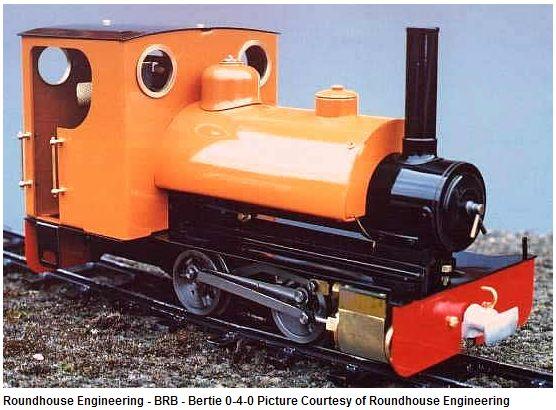 RH Bertie Locomotive
