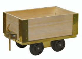 3 Plank Coal Wagon Kit
