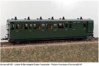 L&B Bogie Coaches in Southern Green