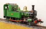 Accucraft IOM Mona 2-4-0 Locomotive