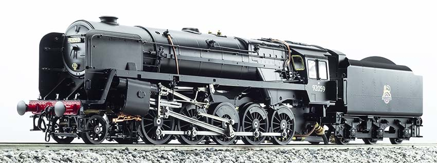 Accucraft/Aster British Railways 9F 2-10-0 Locomotive
