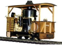 Regner Henry Kit Live Steam Locomotive