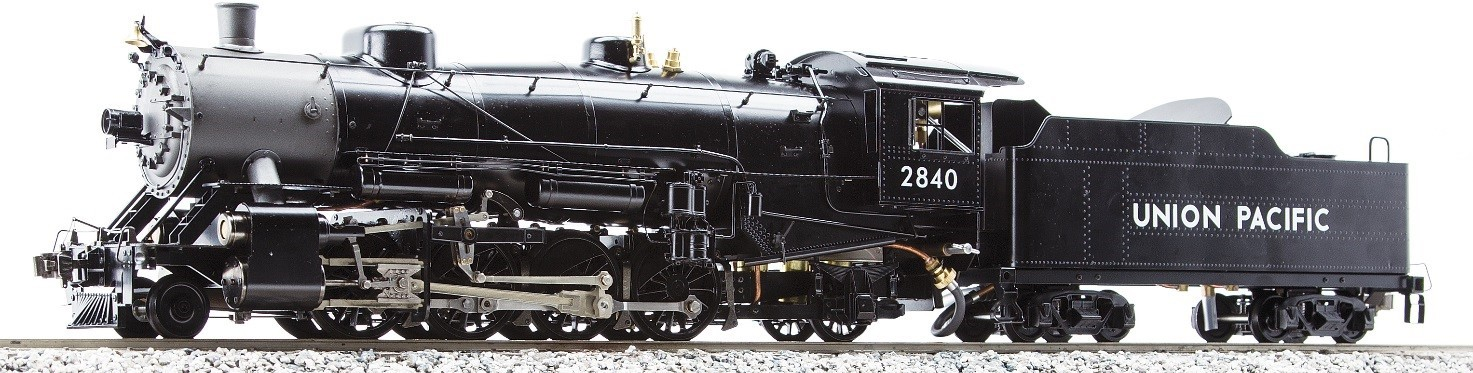 Aster Accucraft USRA Heavy Mikado 2-8-2 Kit or Ready to Run Live Steam Locomotive