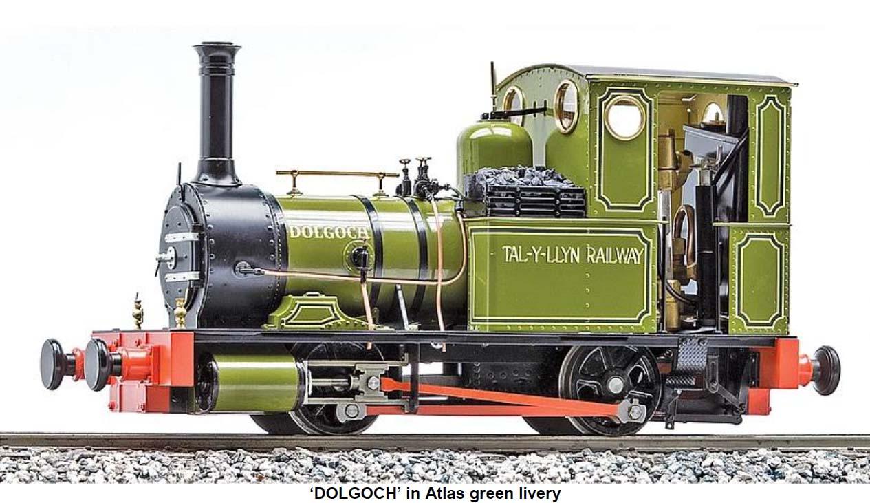 News | Live Steam Train Argyle Locomotive Parts Garden G