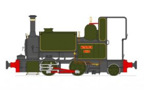 Accucraft Talyllyn 0-4-0T