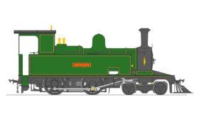 Kathleen Live Steam 4-4-0T Locomotive