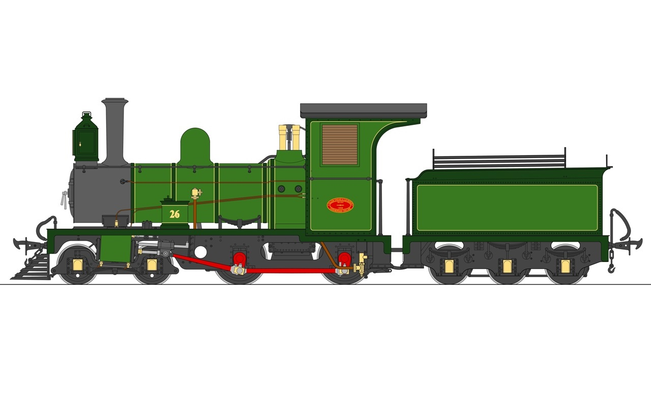 Lawley Beira & SAR Falcon Live Steam Locomotive