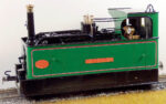 Glyn Valley Tram 'SIR THEODORE' Live Steam 0-4-0T